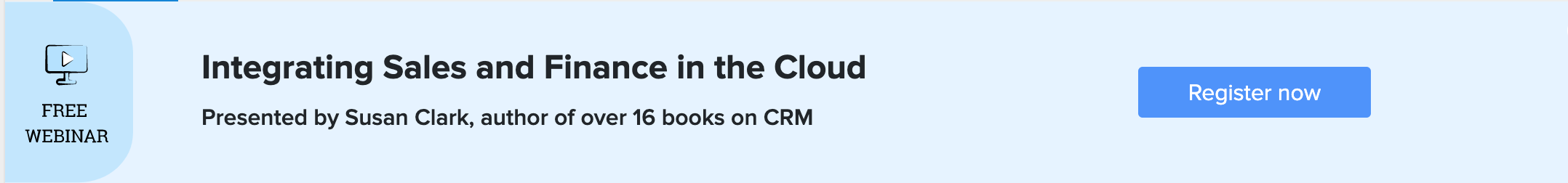 Integrating Sales and Finance in the Cloud